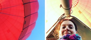 mon premier vol en montgolfière