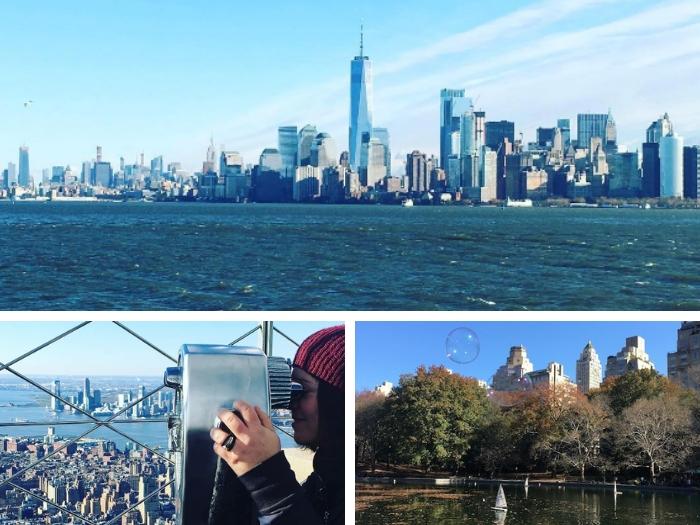 3 jours à New York