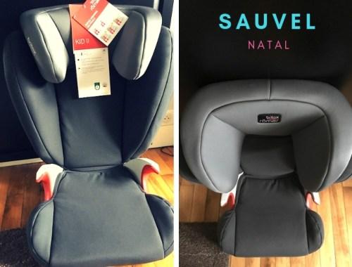 J'ai testé le siege auto pour enfant Britax Romer grace au site Sauvel Natal, le pro de la puériculture