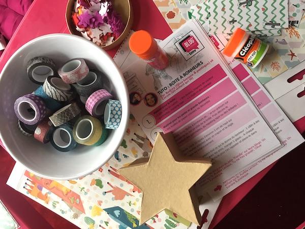 Créer une boîte à bonheurs #DIY