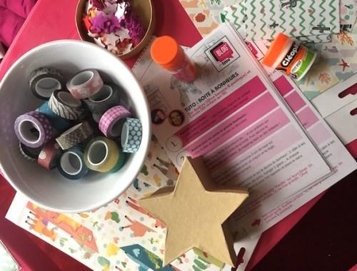 Créer une boite à bonheur #DIY pour les enfants