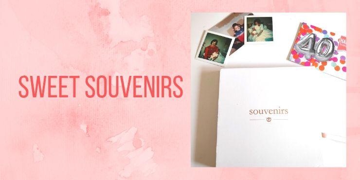 Sweet souvenirs : offrir un cadeau qui reste !