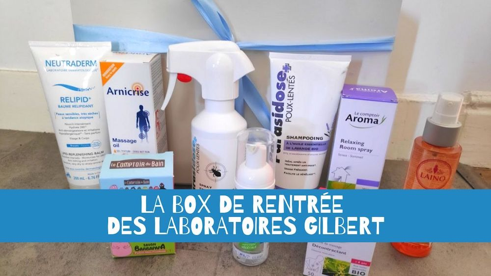 La box de rentrée des laboratoires Gilbert