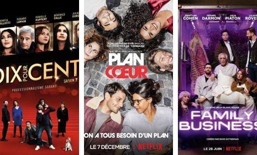 3 sériesTV françaises