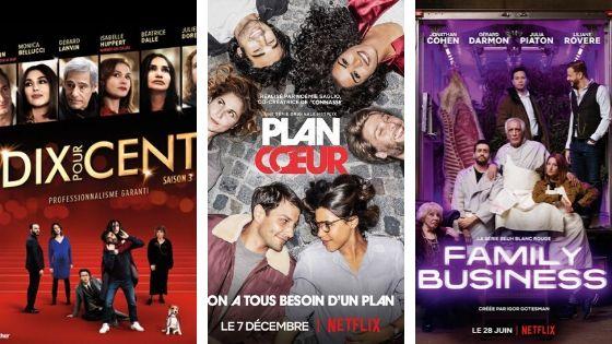3 séries françaises à regarder