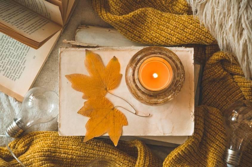 bougie automne