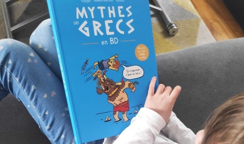 Les mythes grecs en BD