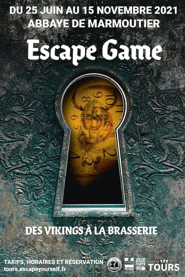 escape game Marmoutier des vikings à la brasserie