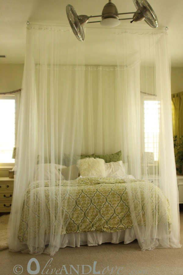 Ceiling Canopy Bed