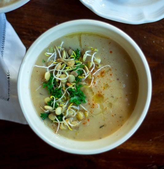 Rustic Leek and Potato Soup