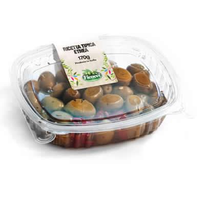 Ricetta tipica regionale etnea olive nocellara etnea schiacciate 150g