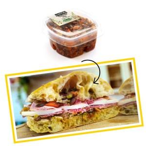 Muffuletta condimento per panini e insalate x 4