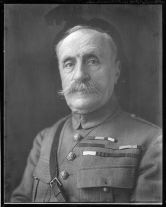Marshal Ferdinand Jean Marie Foch, French general and Marshal of France, Great Britain and Poland, Supreme Commander of the Allied Powers during the final year of the First World War.