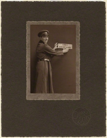 by (Mary) Olive Edis (Mrs Galsworthy), platinum print on photographer's card mount, circa 1920, National Portrait Gallery x16342