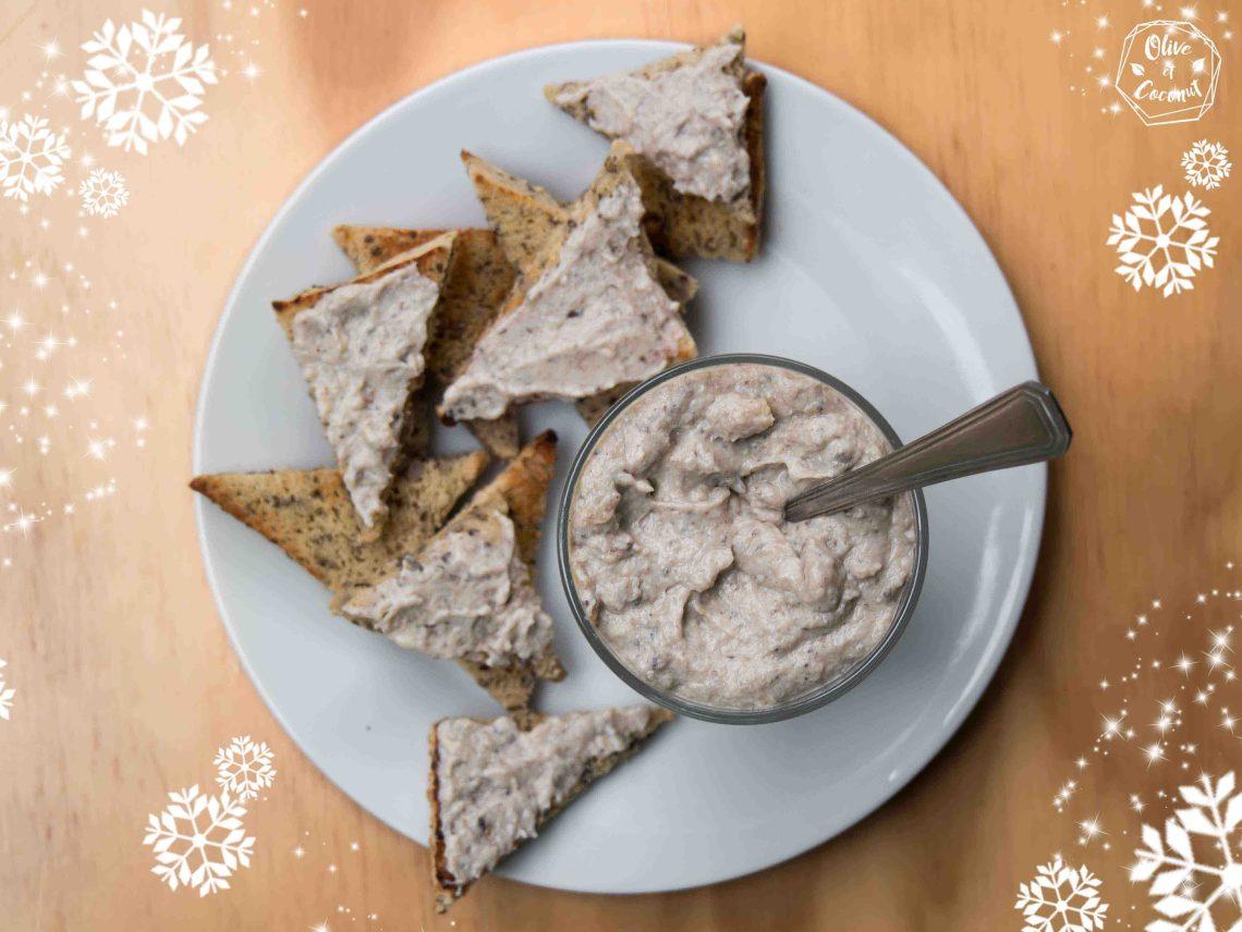 Tartinade Foie Gras Noël Vegan Sans Gluten
