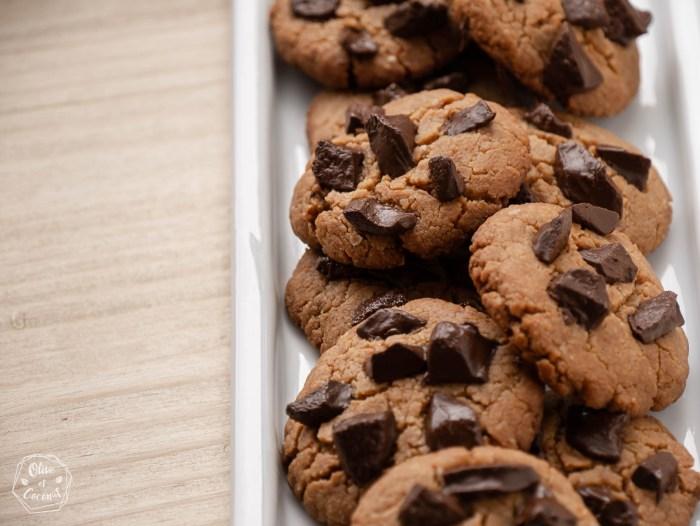 Cookies Cacahuètes Vegan Sans Gluten