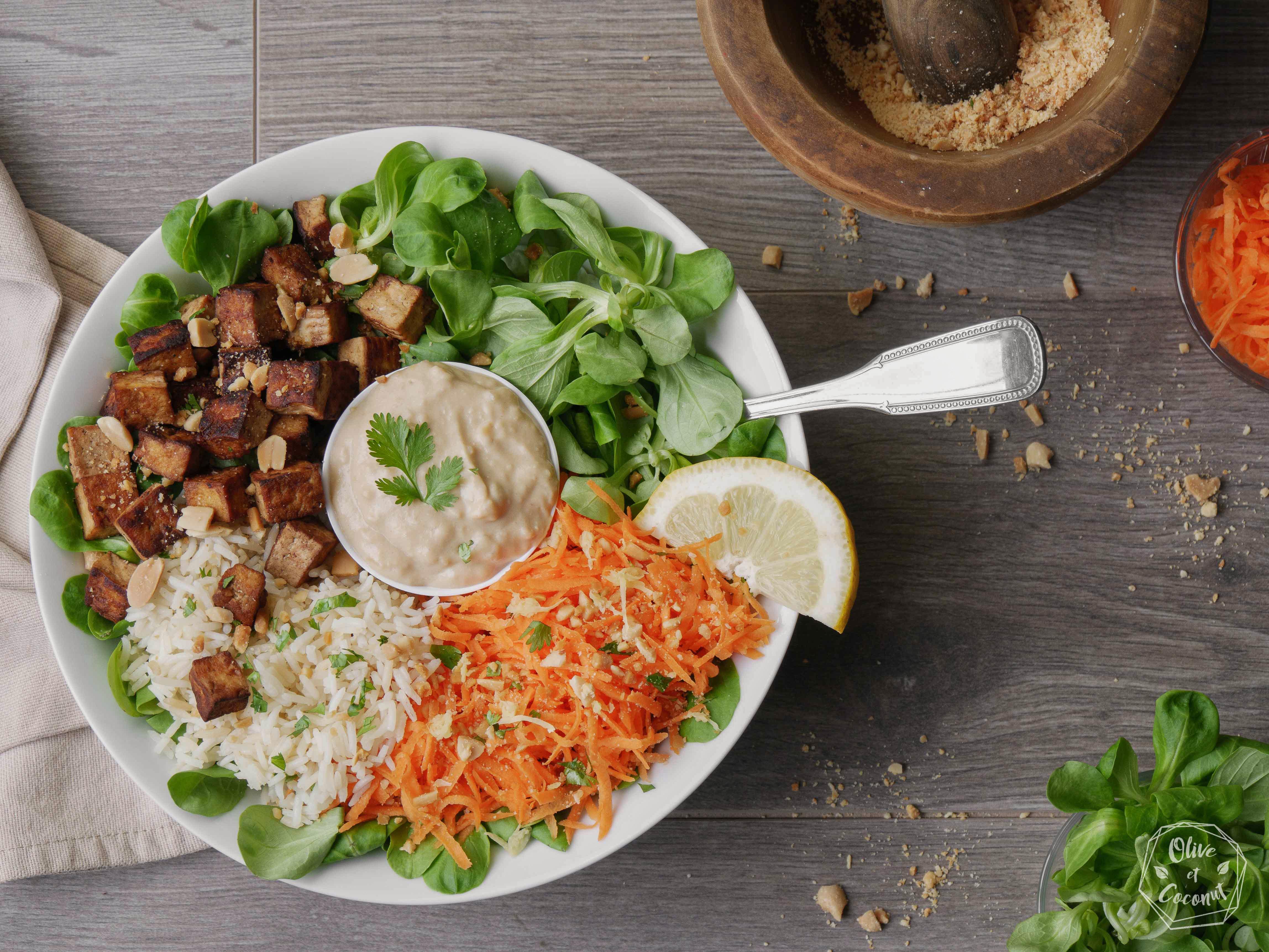 Buddha Bowl Vegan Sans Gluten