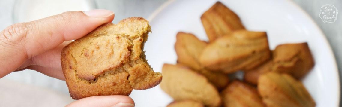 Madeleines Vegan Sans Gluten