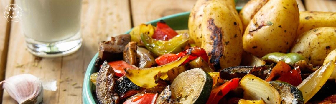 Berbecue Vegan Légumes Grillés