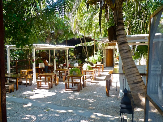 Hartwood restaurant in Tulum Mayan Riviera  Olive Oil