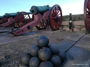 Canons at Kronborg Slot