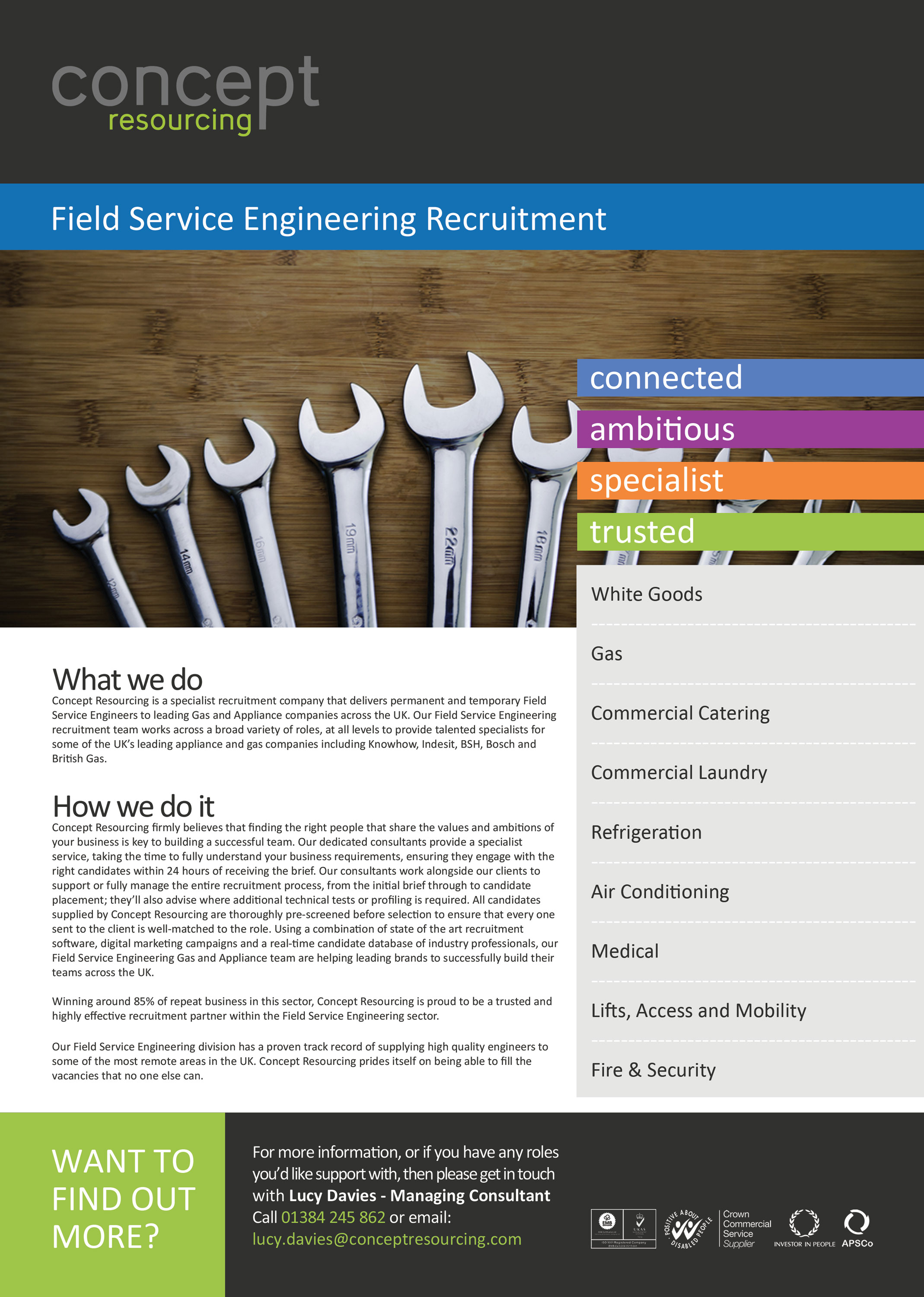 White Goods Engineer Jobs  Concept