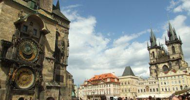Praga s Hradčani, Karlovim mostom, 2 dni