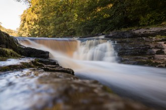Long exposure of the top of the waterfalls at Stainforth Force. Making use of my 10 stop ND filter.