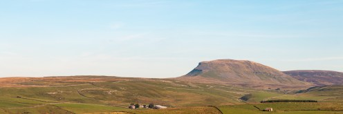 Pen-y-Ghent from the road to Malham Tarn.