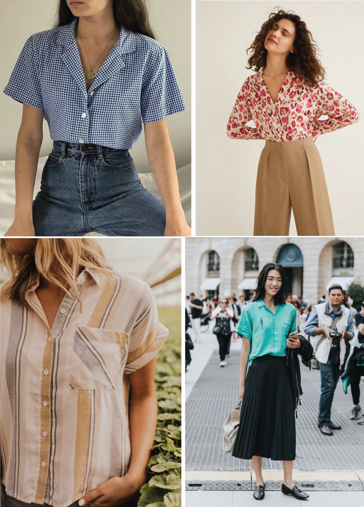 Camp Shirt Pattern : shirt, pattern, Inspiration, Shirt, Dress, Pattern, Oliver