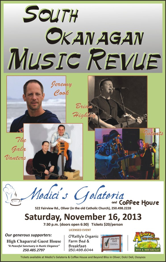 Poster South Okanagan Music Revue small