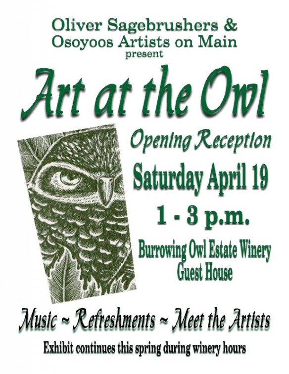 Art at the Owl small