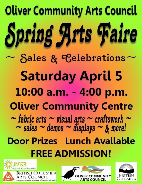 Spring Art Faire 2014 Poster sm