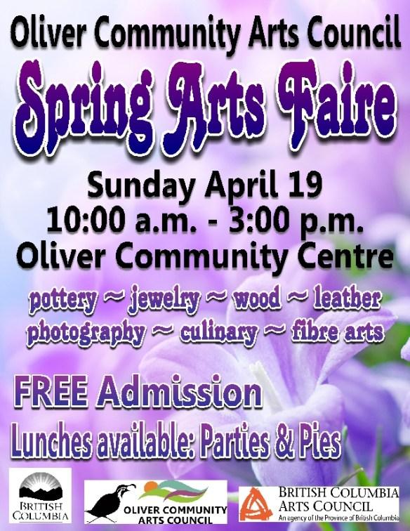 Spring Arts Faire 2015 sm