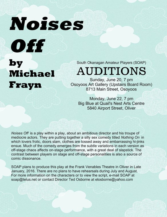 Noises Off Audition sm