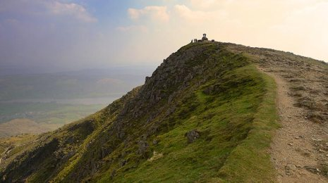 old man of coniston lake district photography