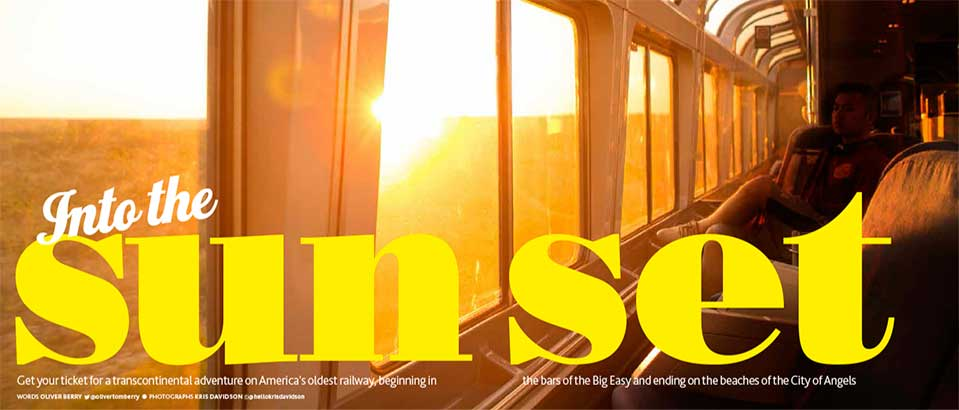 sunset limited train journey