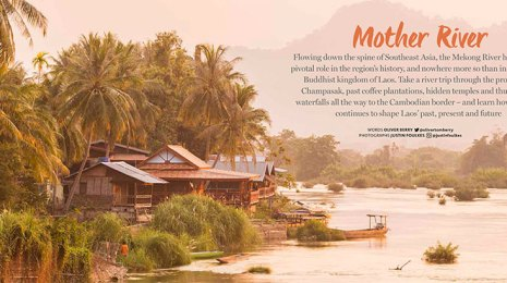 laos mekong river journey