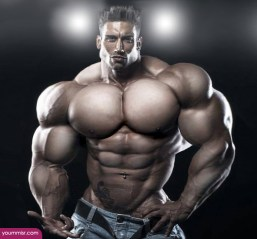 Largest-body-muscles-man-in-the-world-2015-Steroids-uk-13