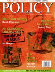 Policy_SUMMER09_cover