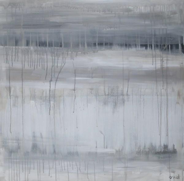 Cascade, abstract art piece