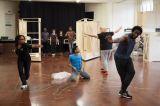 The Company in rehearsal for Cymbeline. Photo by Ellie Kurttz - (C) RSC