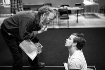 With Antony Sher - The RSC, photographer Guillem Trius