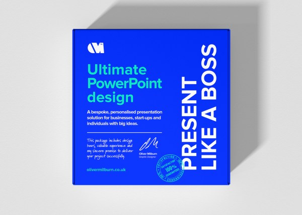 The ultimate PowerPoint presentation design package by Oliver Milburn
