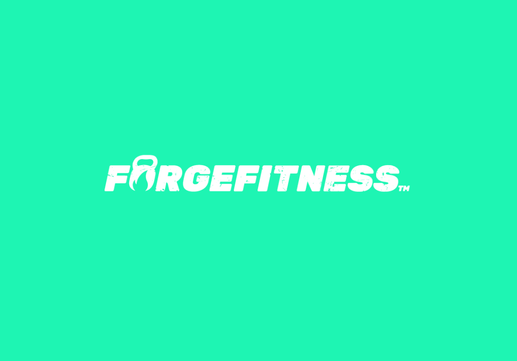 Redesigned Forge Fitness logo from brand guidelines.