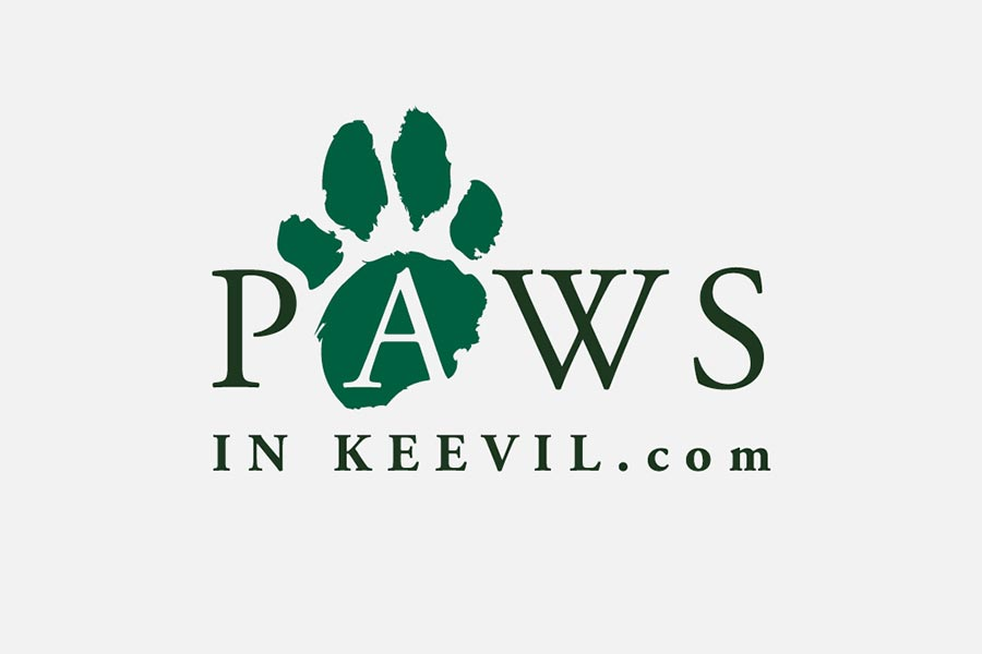 Paws In Keevil logo designed by Oliver Milburn
