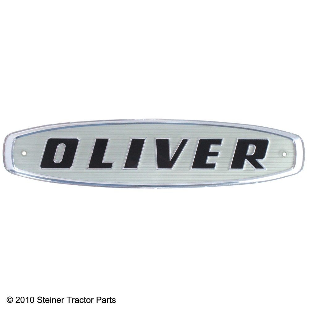 medium resolution of  brand new front emblem for the following models oliver 550 770 880