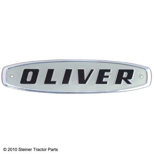 small resolution of  brand new front emblem for the following models oliver 550 770 880
