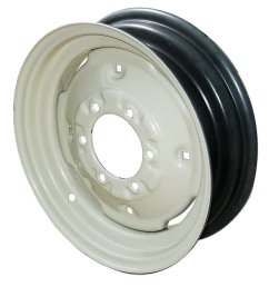 4 5 x 16 6 lug front wheel with 4 wheel weight holes for oliver 77 [ 1200 x 1200 Pixel ]