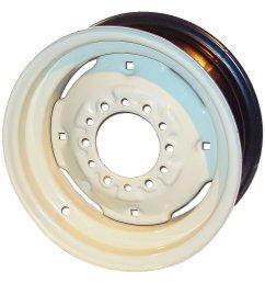 6x15 6 lug front wheel for oliver 1655 1750 1755 1800  [ 1200 x 1200 Pixel ]